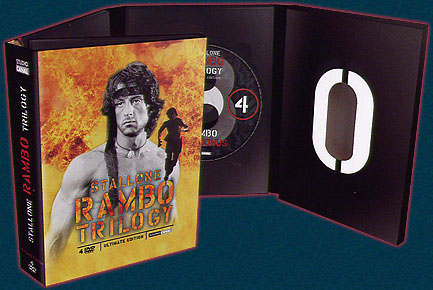Digipack Rambo Trilogy