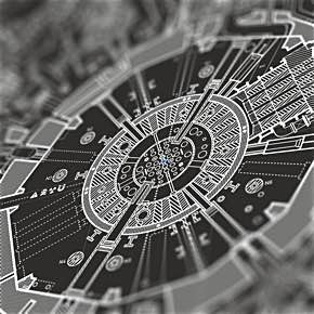 Death Star II - The lost blueprint poster