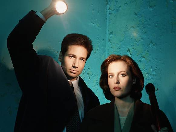 David Duchovny & Gillian Anderson - The X-Files