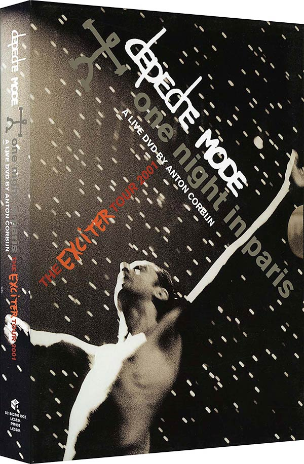 Depeche Mode - One Night In Paris, The Exciter Tour 2001 - DVD (2001)