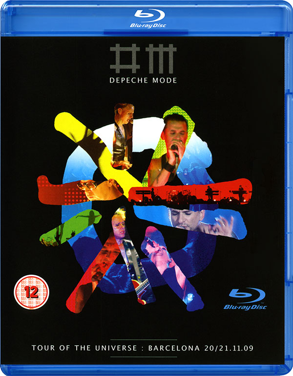 Depeche Mode - Tour of the Universe : Barcelona 20/21.11.09 - Blu-ray (2009)