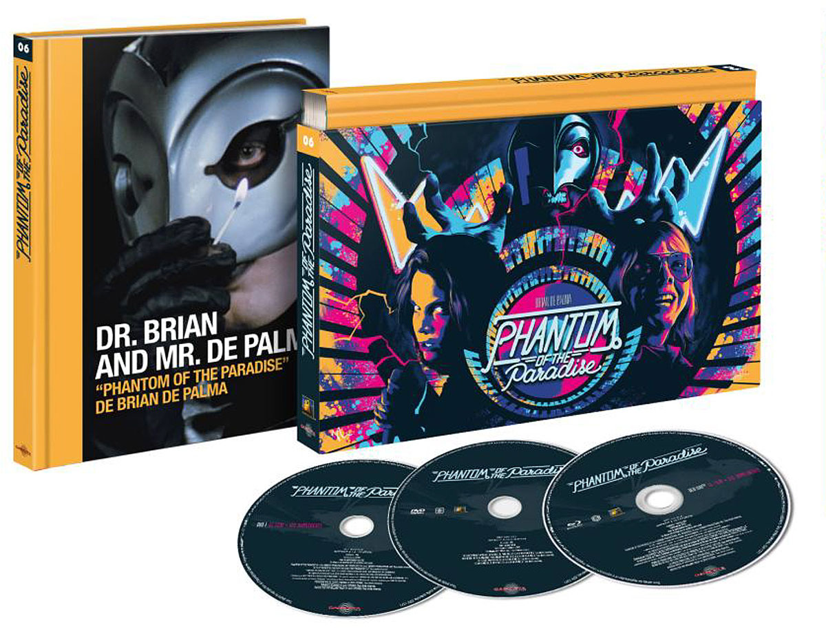 Phantom of the Paradise - Blu-ray/DVD/Livre Ultra Collector