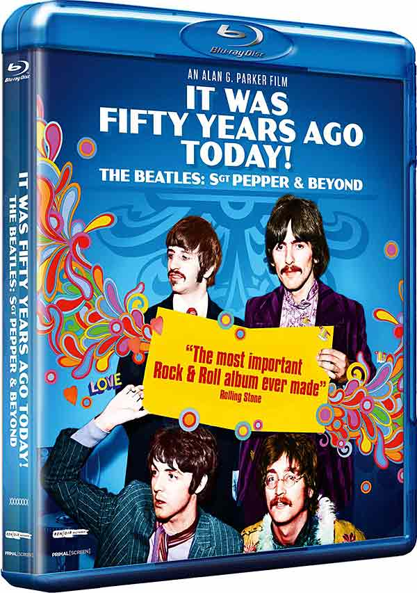 It Was Fifty Years Ago Today ! The Beatles: Sgt Pepper and Beyond - Blu-ray