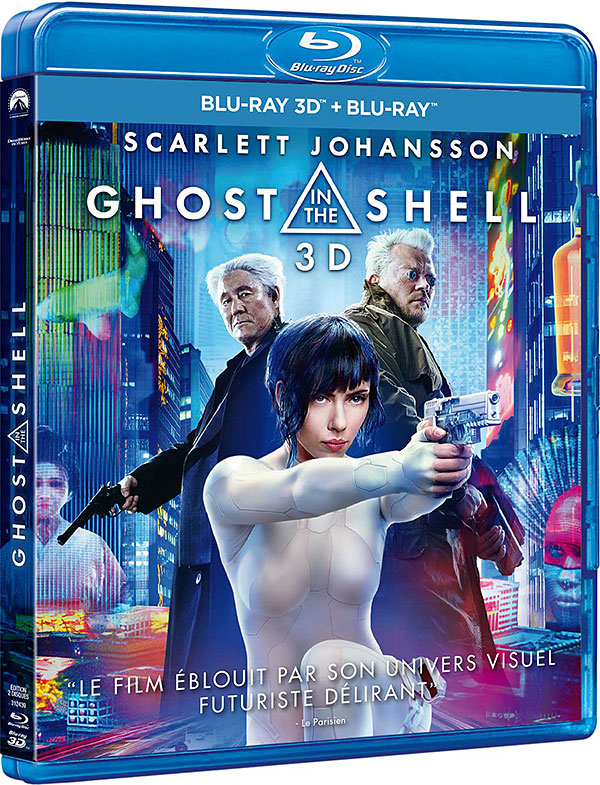 Ghost in the Shell (2017) - Blu-ray 2D/3D