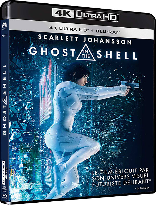 Ghost in the Shell (2017) - 4K Ultra HD + Blu-ray