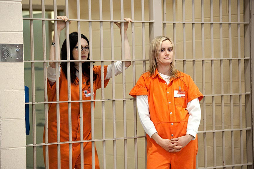 Orange Is the New Black - Laura Prepon & Taylor Schilling