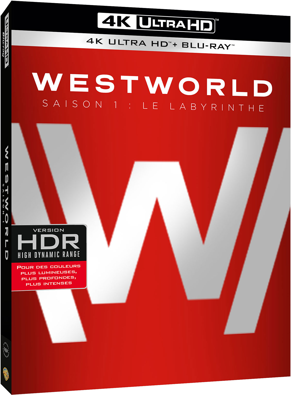 Westworld - Saison 1 : Le Labyrinthe - 4K Ultra HD + Blu-ray