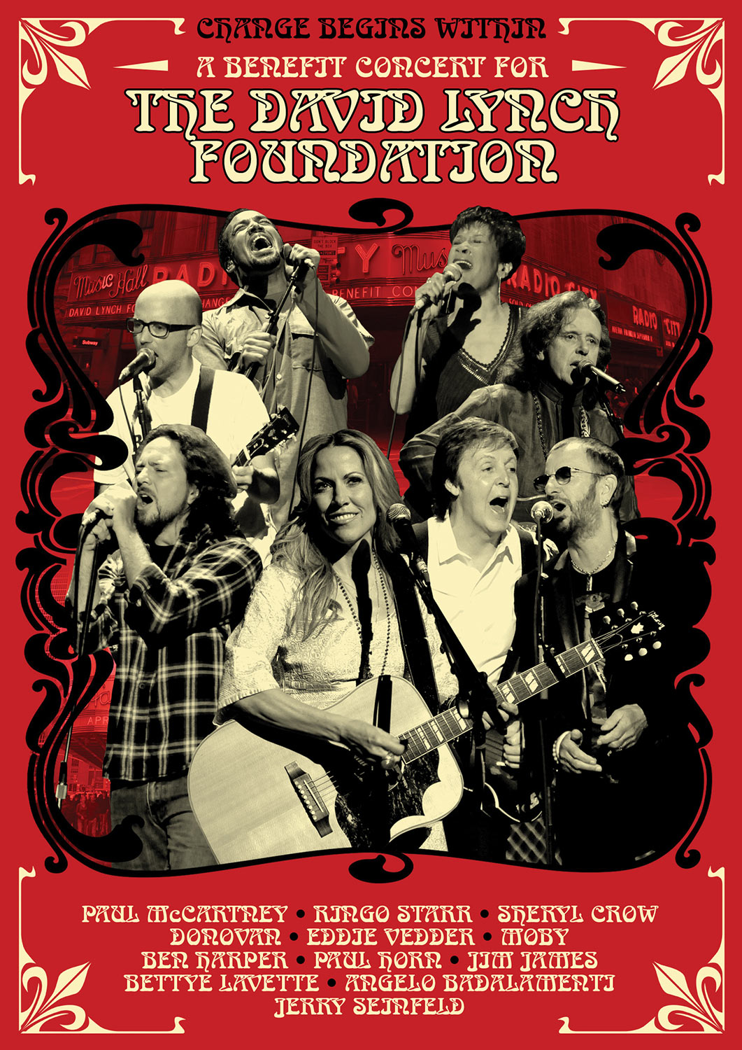Change Begins Within, A Benefit Concert for the David Lynch Foundation - DVD