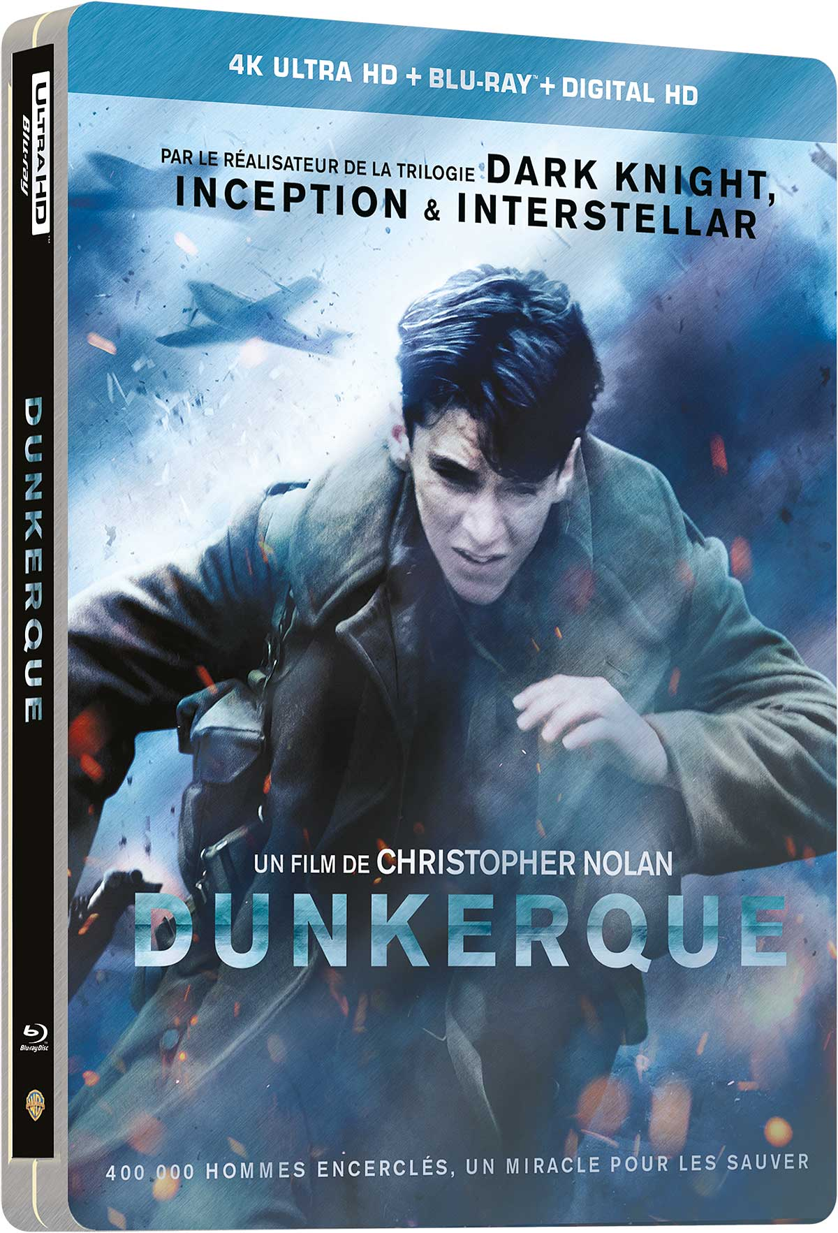 Dunkerque - 4K Ultra HD + Blu-ray - SteelBook