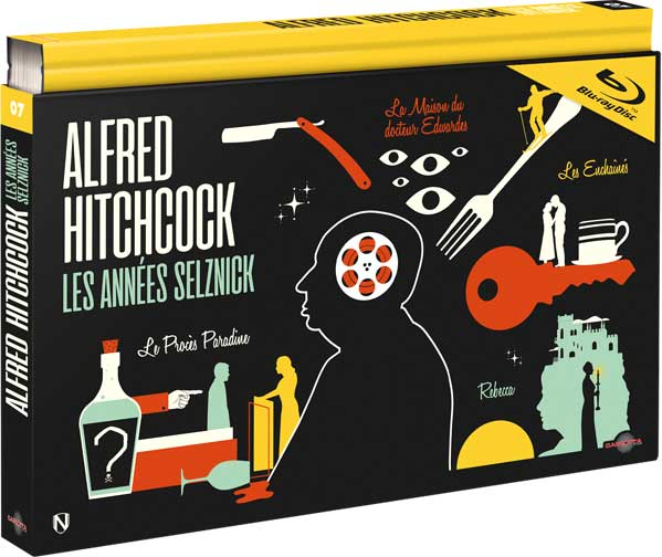 Alfred Hitchcock - Les Années Selznick - Blu-ray