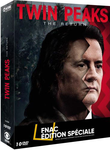 Twin Peaks : The Return - Coffret FNAC 10 DVD