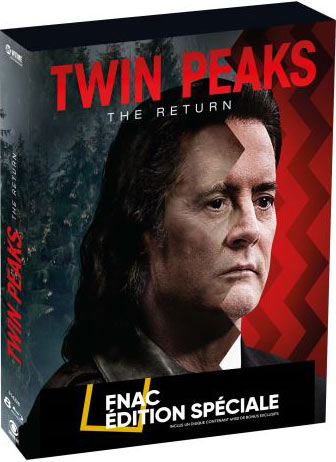 Twin Peaks : The Return - Coffret FNAC 8 Blu-ray