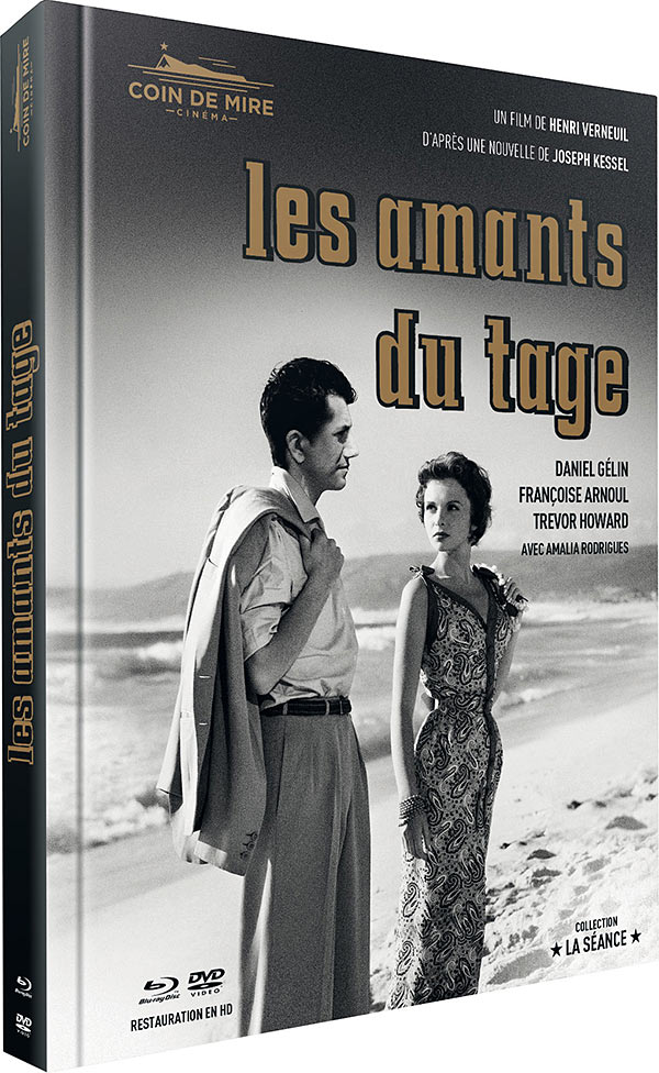 Les Amants du Tage - Combo Digipack Blu-ray/DVD/Livret/Goodies