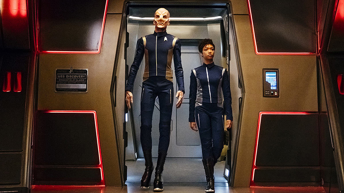 Star Trek Discovery - Saru & Michael Burnham