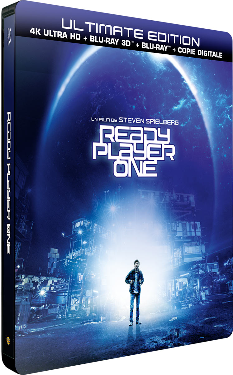 Ready Player One - Ultimate Edition - 4K Ultra HD + Blu-ray 3D + Blu-ray + Copie Digitale