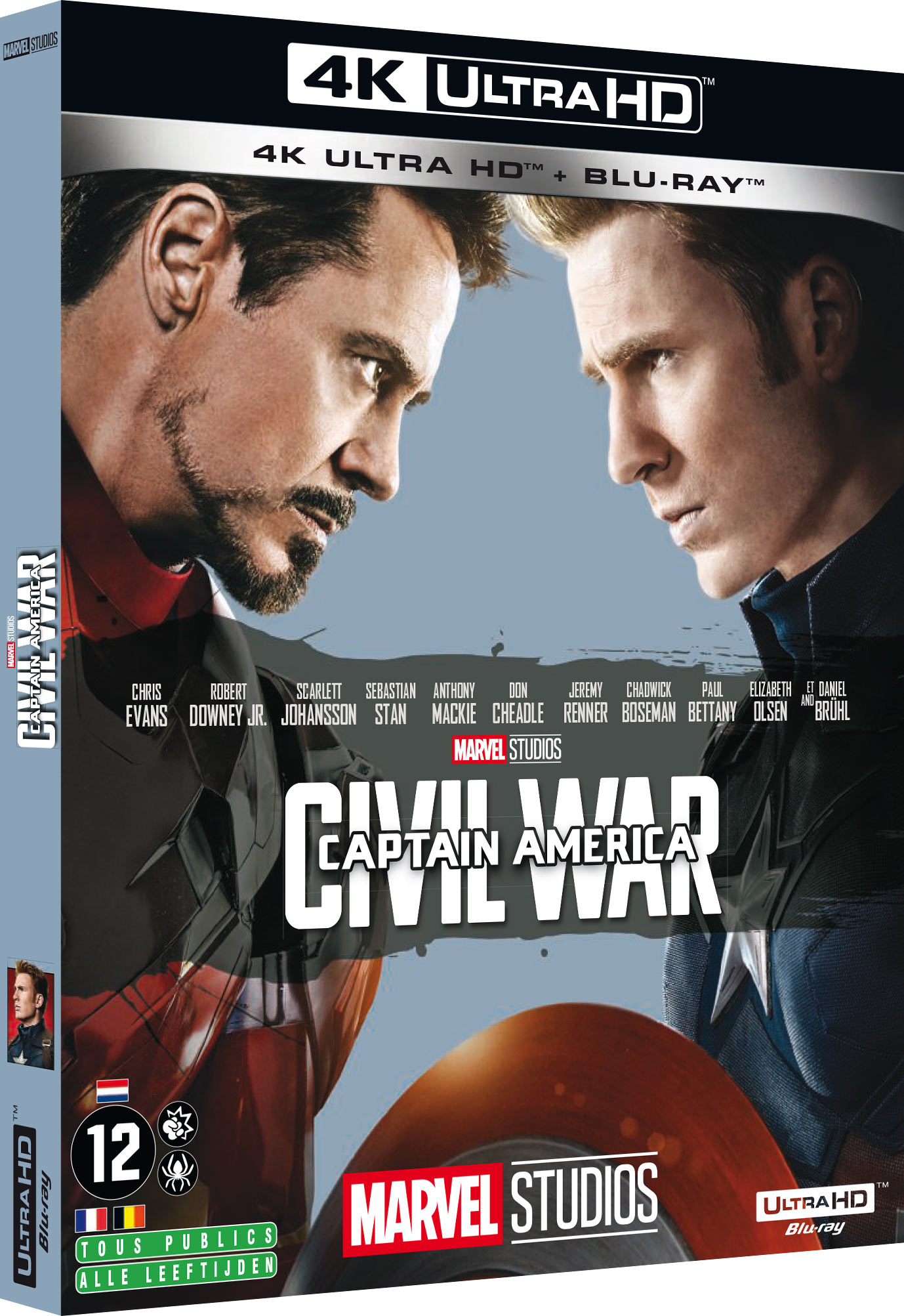 Captain America : Civil War - 4K Ultra HD + Blu-ray
