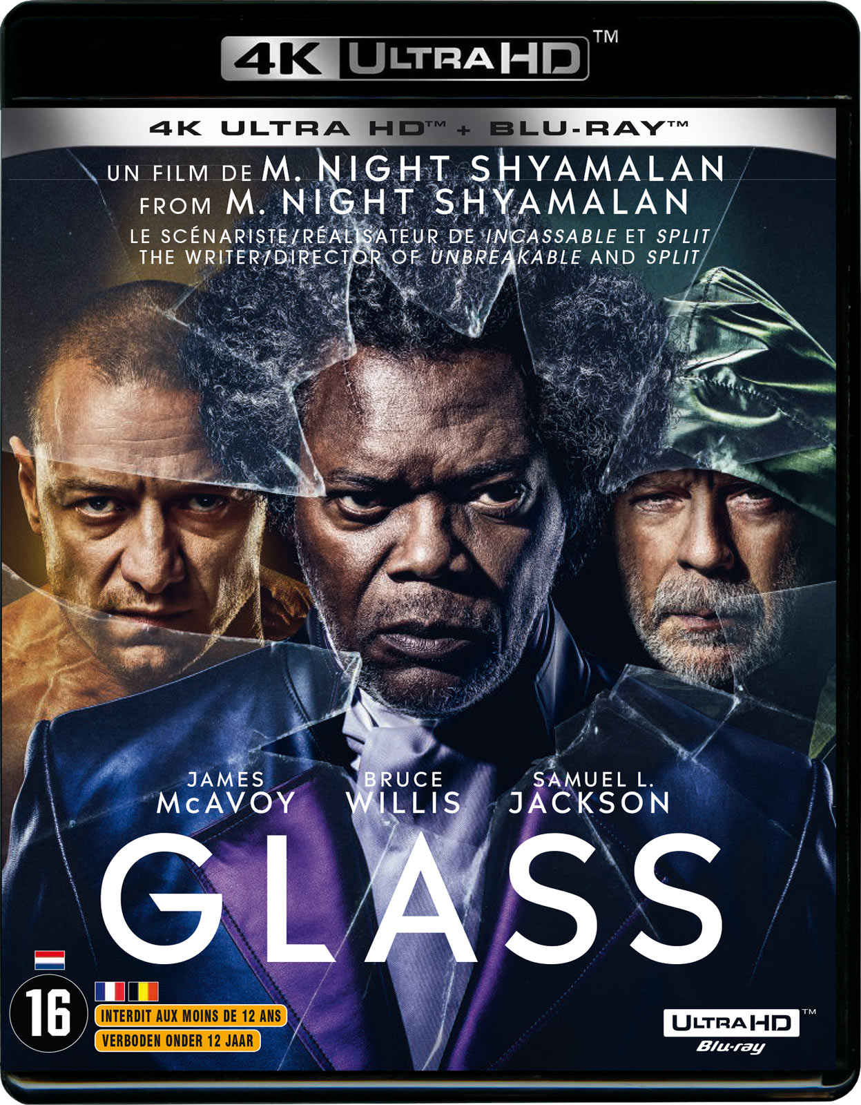 Glass - 4K Ultra HD + Blu-ray