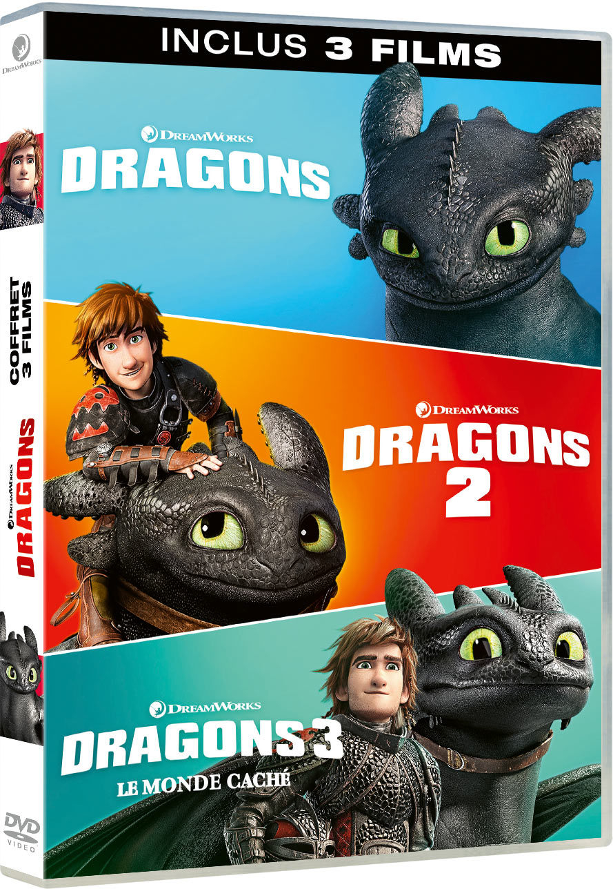 Dragons - La trilogie - DVD