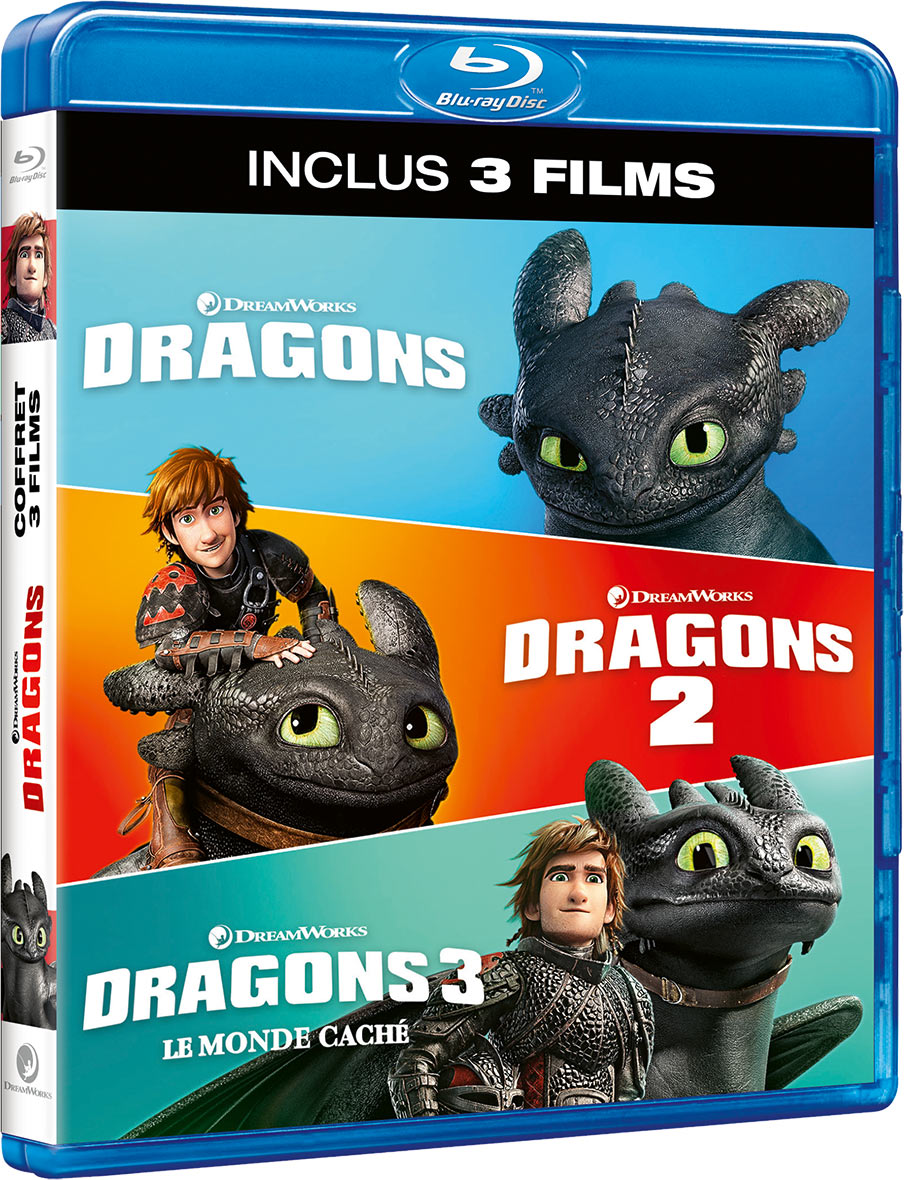 Dragons - La trilogie - Blu-ray