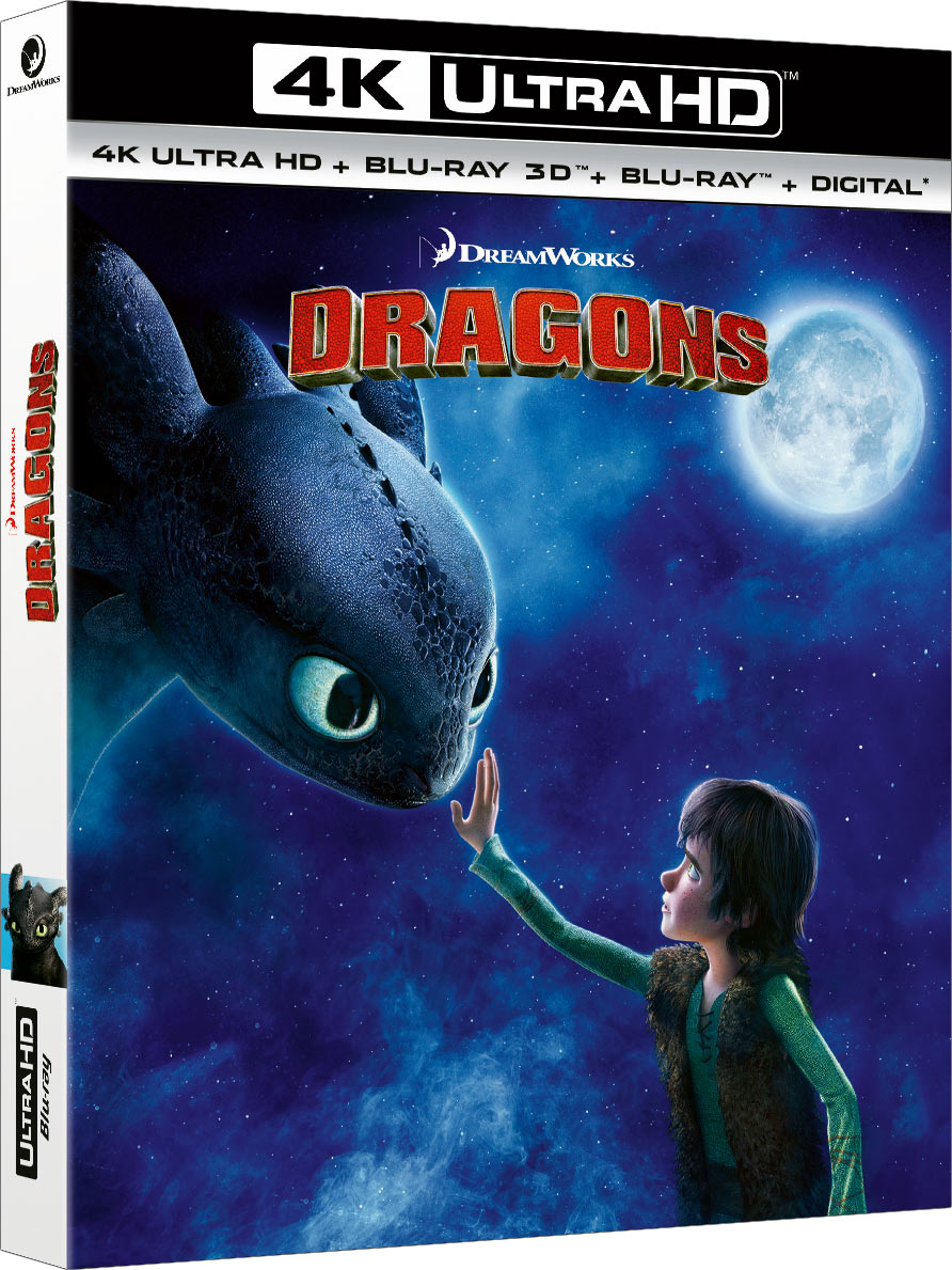 Dragons - 4K Ultra HD + Blu-ray 3D + Blu-ray + Digital