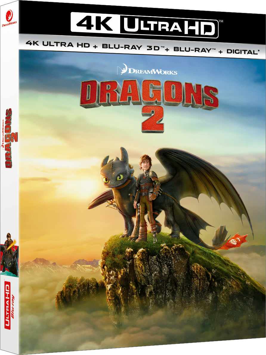 Dragons 2 - 4K Ultra HD + Blu-ray 3D + Blu-ray + Digital