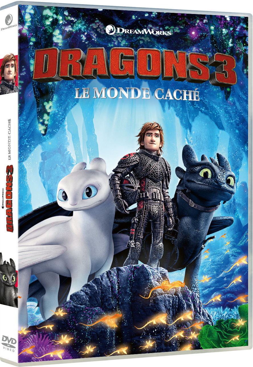 Dragons 3 : Le Monde caché - DVD