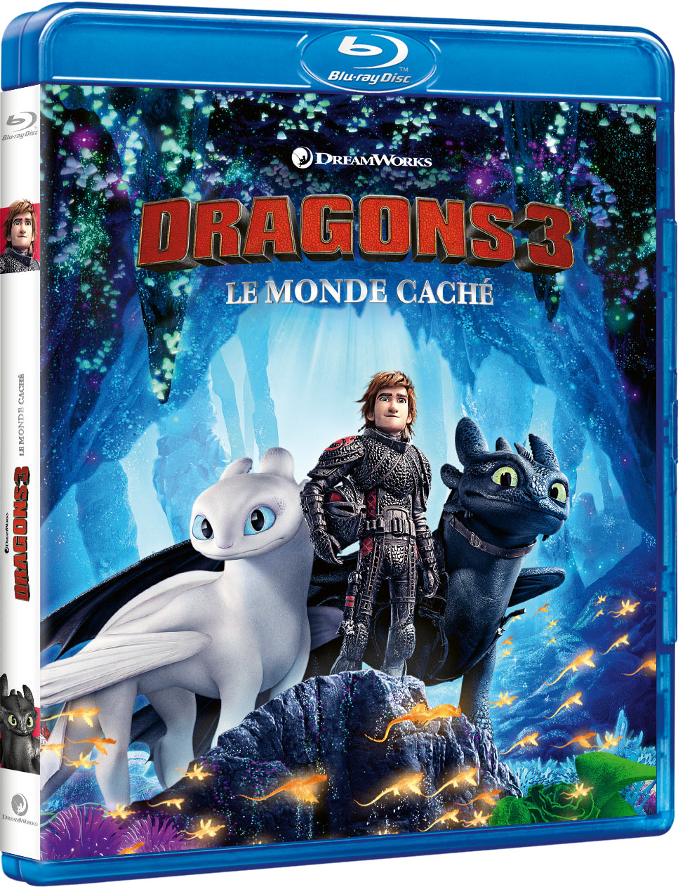 Dragons 3 : Le Monde caché - Blu-ray + Digital