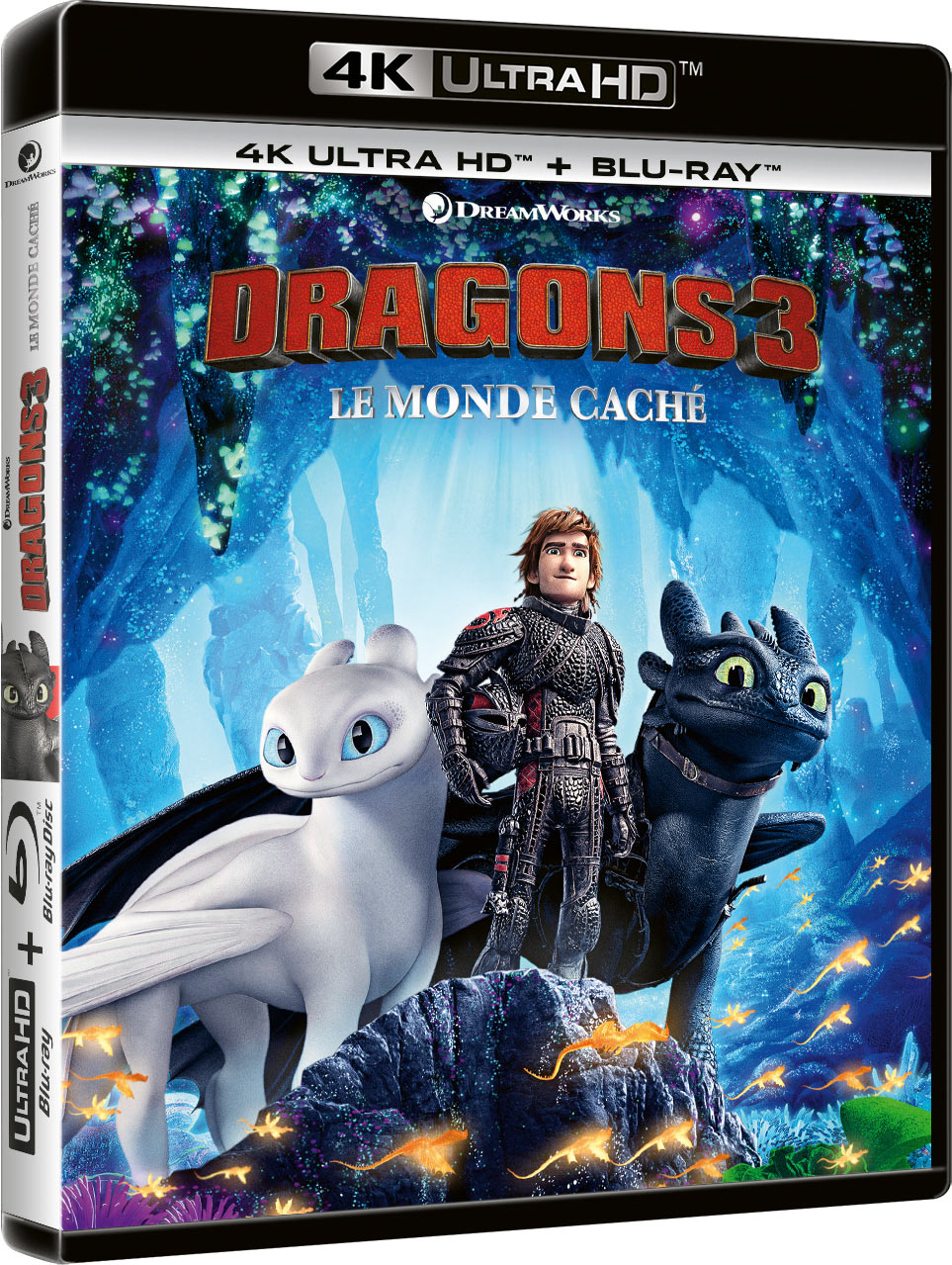 Dragons 3 : Le Monde caché - 4K Ultra HD + Blu-ray + Digital