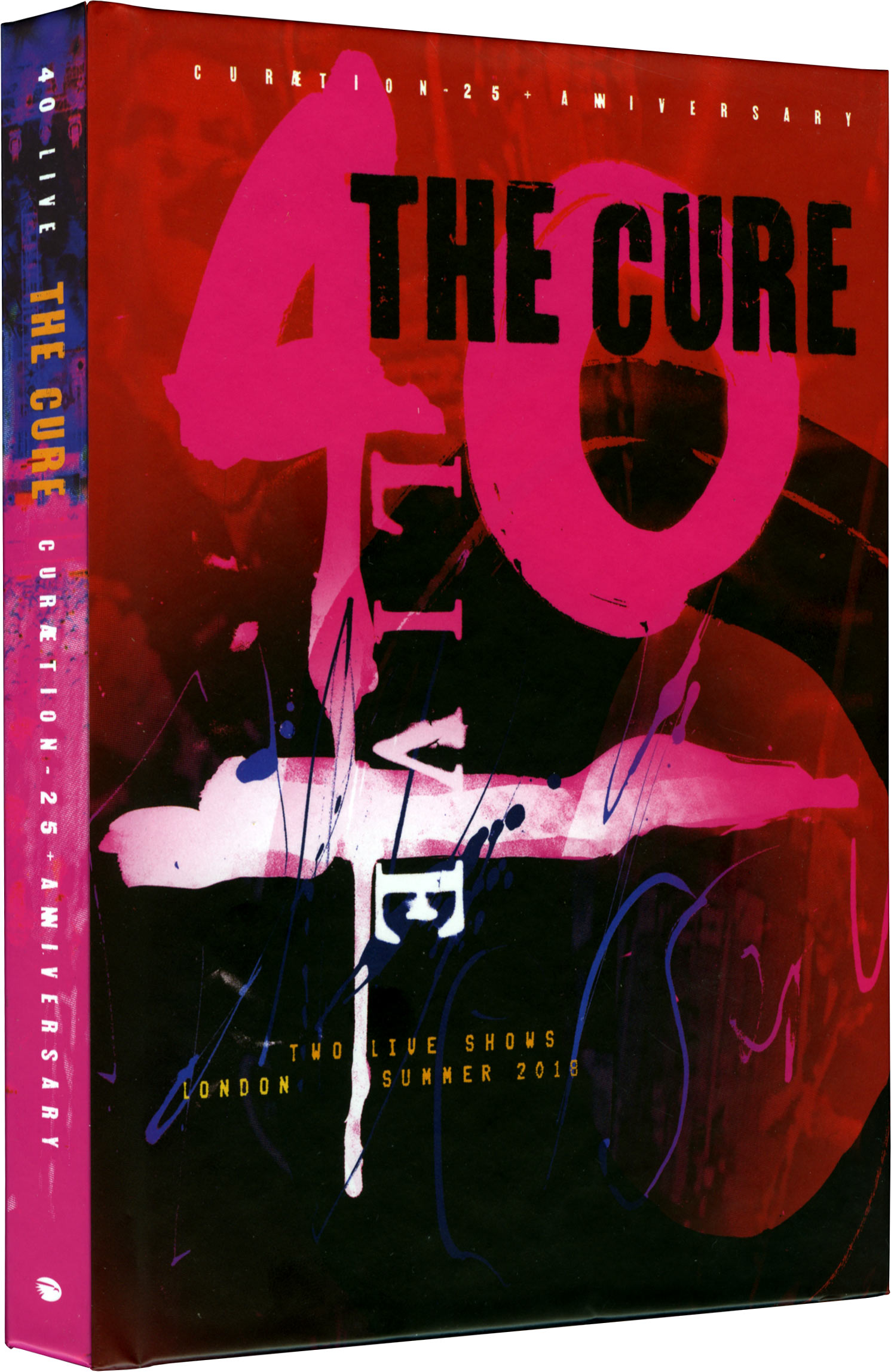The Cure - 40 Live - DigiBook 2 Blu-ray