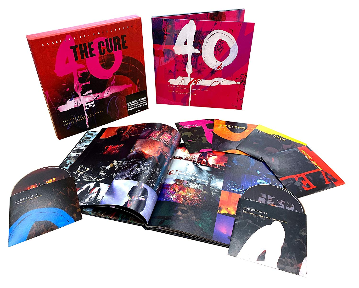 The Cure - Live 40 - Collector 2 Blu-ray + 4 CD + Livre 40 pages