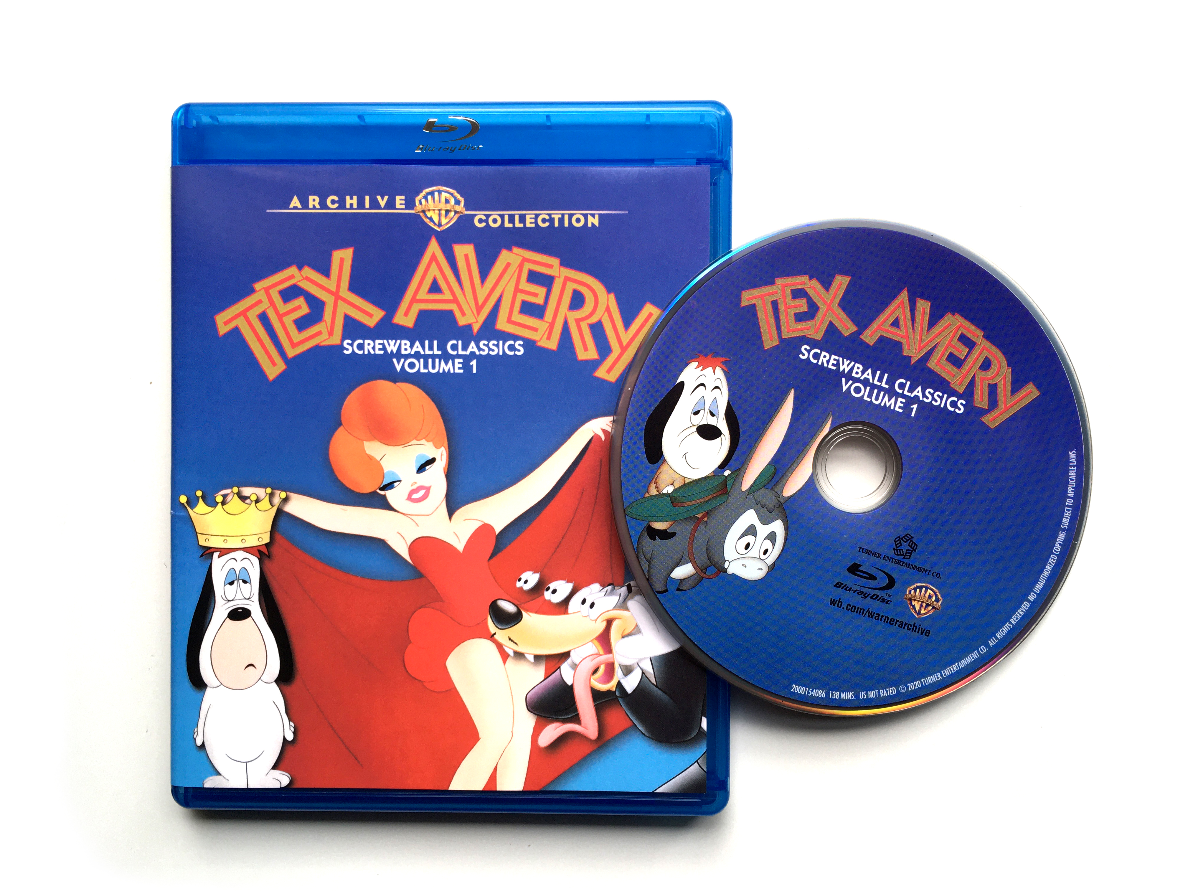 Tex Avery - Screwball Classics Volume 1 - Blu-ray US