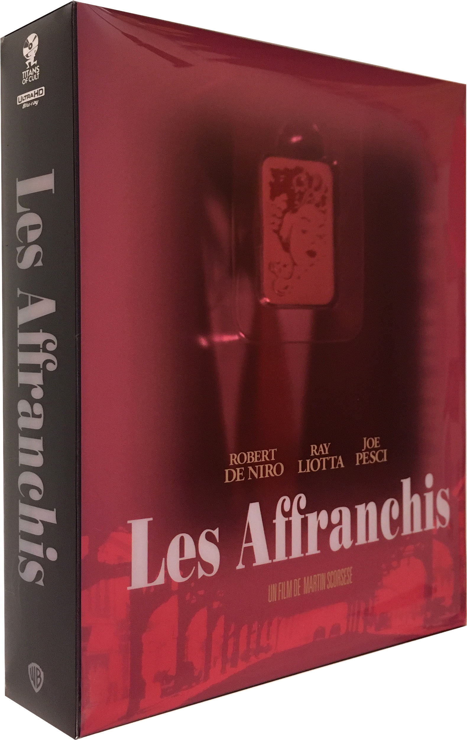 Les Affranchis - Édition Titans of Cult - 4K Ultra HD + Blu-ray - SteelBook + goodies