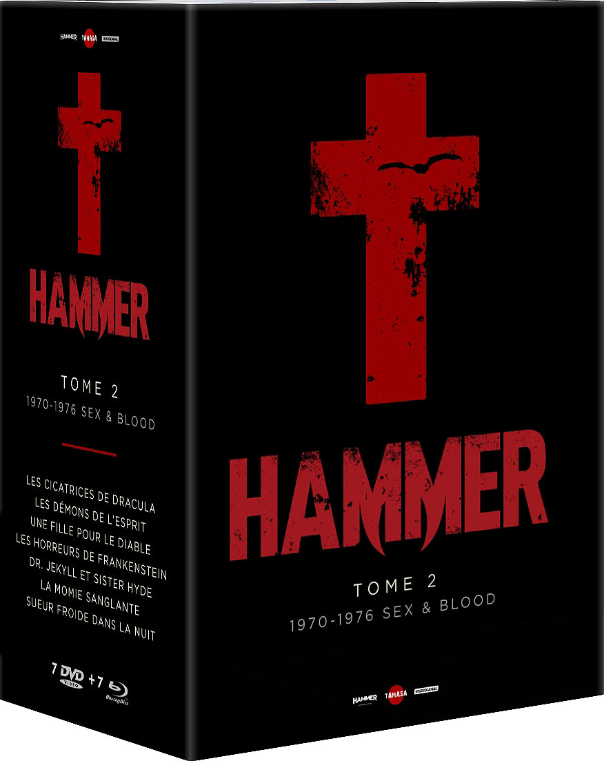 Hammer - Tome 2 - 1970-1976 Sex & Blood (2020) - Combo Blu-ray + DVD
