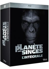 La Plan�te des singes : L'int�grale 7 films (Pack) - Blu-ray