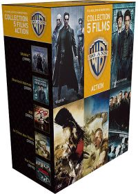 90 ans Warner - Coffret 5 films - Action (�dition Limit�e) - Blu-ray