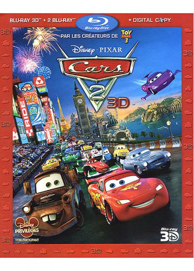 Cars 2 Edition Collector 30/11/2011 153791