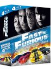 Fast and Furious - Int�grale 4 films - Blu-ray