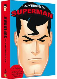 Coffret 2 DVD + 1 masque - Les aventures de Superman (Pack) - DVD