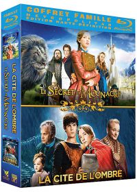 Coffret Famille : La cité de l'ombre + Le secret de Moonacre (Pack) - Blu-ray