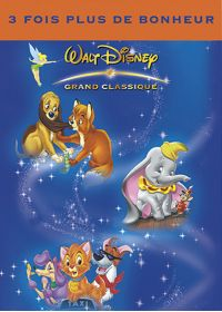 Rox et Rouky + Dumbo + Oliver & Compagnie - DVD
