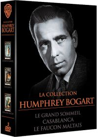 La Collection Humphrey Bogart - Le grand sommeil + Casablanca + Le faucon maltais (Pack) - DVD