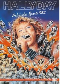 Johnny Hallyday - Palais des Sports 1982 - DVD