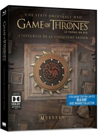 Game of Thrones (Le Trône de Fer) - Saison 5 (Édition collector boîtier SteelBook + Magnet) - Blu-ray