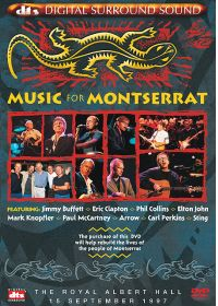 Music for Montserrat - DVD