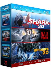 Shark + Bait + Spiders (Pack) - Blu-ray 3D