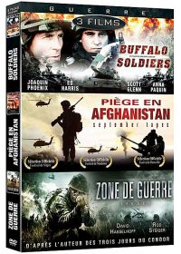 Guerre - Coffret 3 films : Buffalo Soldiers + September Tapes - Piège en Afghanistan + Zone de guerre - Legacy (Pack) - DVD