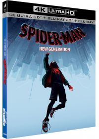 Spider-Man : New Generation (4K Ultra HD + Blu-ray 3D + Blu-ray) - 4K UHD
