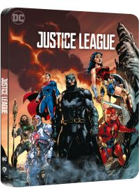 Justice League (4K Ultra HD + Blu-ray - Édition boîtier SteelBook) - 4K UHD