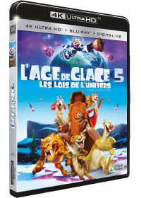 L'Age de glace 5 : Les lois de l'univers (4K Ultra HD + Blu-ray + Digital HD) - Blu-ray 4K