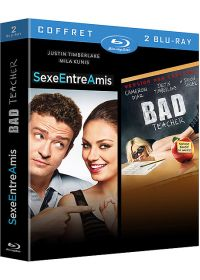 Coffret Justin Timberlake - Sexe entre amis + Bad Teacher (Pack) - Blu-ray